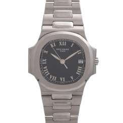 PATEK PHILIPPE Nautilus men's watch, Ref. 3800/1. Stainless steel.