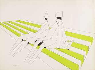 Seated Figures 1972