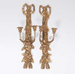 Pair of wall appliques in the Louis XVI style