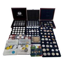Germany-collection of modern Commemorative coins,