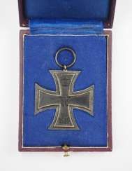 Prussia: Iron Cross, 1914, 2. Class, in a case.