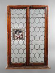 Large Lead Glass Window