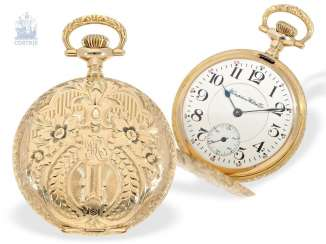 Pocket watch: American splendor savonnette with precision,