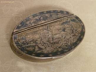 Snuff box oval