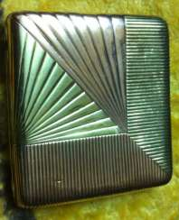 Cigarette case gold 56 samples 19th century great job