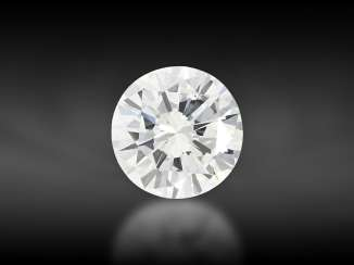 "Brilliant: valuable ""River"" brilliant, one-carat, 1.08ct, very fine white (E) VVS1, from Hofjuwelier Roesner, including DPL certificate from Idar-Oberstein"