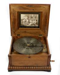 Pholyphon with 18 plates around 1890/1900