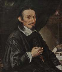Unknown - Portrait of a clergyman at the age of 62, around 1663