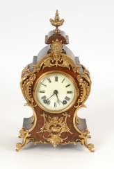 Small table clock in the Rococo style, LENZKIRCH