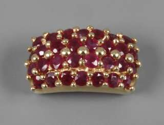 Pendant with rubies