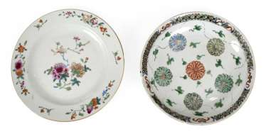 Two Plates, China, 18. Century