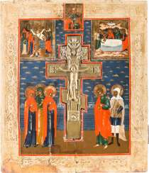 ORIGINATING WITH THE CRUCIFIXION OF CHRIST WITH THE DEPOSITION FROM THE CROSS AND THE ENTOMBMENT, AS WELL AS THE ST. NICHOLAS OF MYRA