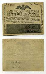 RUSSIA FOR FINLAND 75 CENTS 1840 Pick A26, Ryabchenko 27693 paper 10-2-2-1