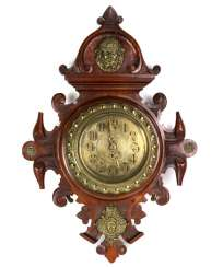 Historicism Lenzkirch wall clock to 1880/85