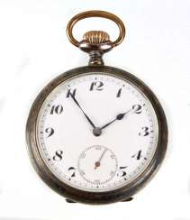 *Junghans* Mens Pocket Watch Silver 800
