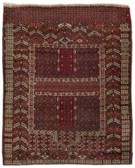 Antique Tekke Engsi tent entrance carpet