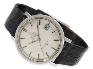 Watch: large Omega Constellation Automatic chronometer in stainless steel, reference 168.004, completely original condition, built in 1966