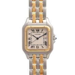 CARTIER Panthere women's watch, Ref. 83957. Stainless Steel/Gold.