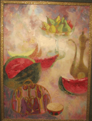Still life with watermelon A. Khorasani