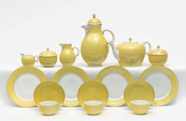 Coffee and tea service, 36 pieces, Nymphenburg, after 1975