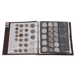 Mixed coin album, with a focus on Germany and Austria -