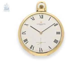 Pocket watch: very fine, great Frackuhr first-class quality, Vacheron & Constantin Geneve 70s/80s