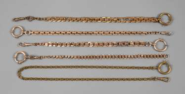 Five Watch Chains