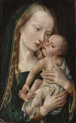 Mary with the child Flemish (?) At the beginning of 16. Century
