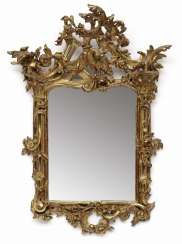 Mirror. South German (Swiss Francs), In The Middle Of 18. Century