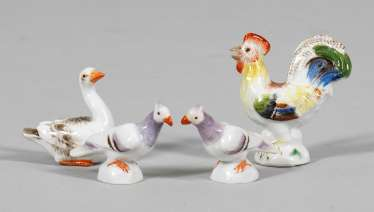 Four Miniature Figures