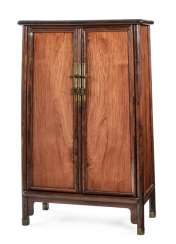 Conical Cabinet made of hard wood