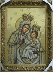 Icon of the Mother of Braslav or B. M. the Queen of the lakes