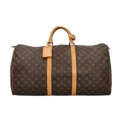 "LOUIS VUITTON VINTAGE Weekends ""KEEPALL 55"", Collection 1991."