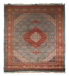Large medallion carpet with Herati decoration