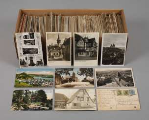 Large Mixed Lot Of Postcards