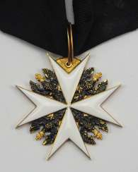 Prussia: Knightly Order of St. Johannis in Jerusalem, Balley Brandenburg, Knight of Honor Cross.
