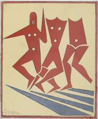 Fortunato Depero (Malosco 1892 - Rovereto 1960): Untitled late '40s - early '50s