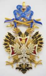 Russia: order of the White eagle with swords, gem