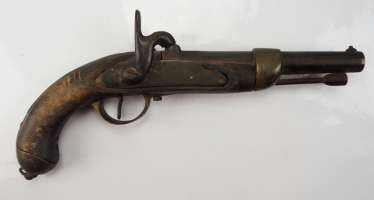 France: percussion pistol.
