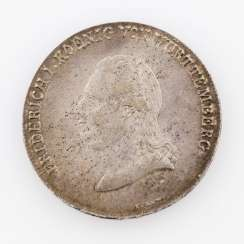 Württemberg crown Taler 1810, Friedrich II. (I.), manufacturer of I. L. W., Thun, 423,