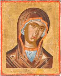 SMALL ICON OF MOTHER OF GOD FROM A DEESIS GROUP