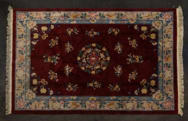 Carpet on the floor. CHINA, 20. Century, 334x244 cm