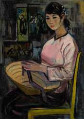 MODERN PORTRAIT PAINTER Active in the mid-20s
