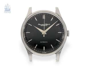 Watch: rare IWC automatic with black dial, Schaffhausen, 1958