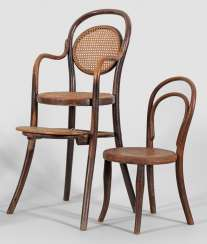 Two children's chairs from Thonet