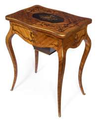 The saloon table. Louis XV style, France, 19th century. Century
