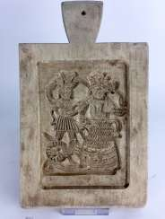 Rare baking mold / biscuits mold: Nuremberg, early 19th century. Century