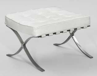 Ottoman, after a design by Ludwig Mies van der Rohe
