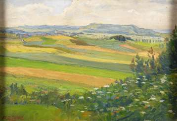 EPPLE, Alfons: Wide landscape.