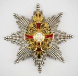 Austria: Imperial Austrian Franz-Joseph-Order, Grand Cross Star, 2nd Type (1872-1918)